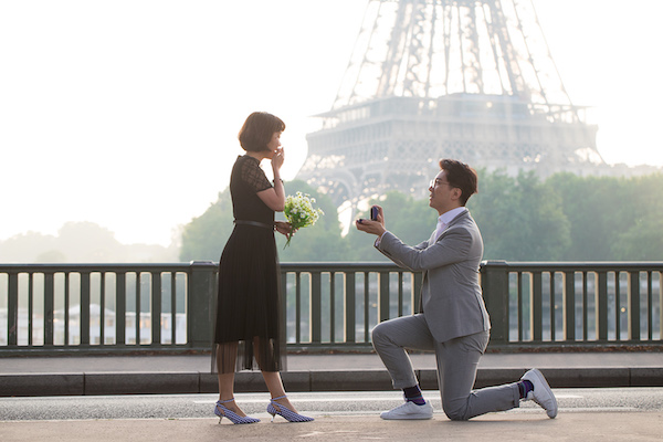 Proposal Photographer Paris