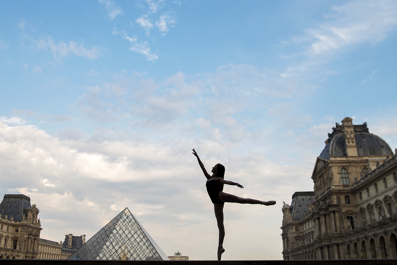 ballet dance photography Paris Louvre